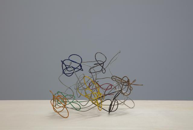 , 'Coloured Wire,' 1983, Tatjana Pieters