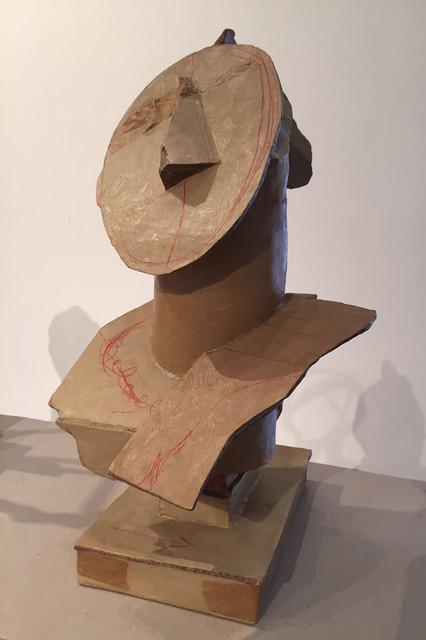 , 'Roman Head 1,' 2014, Lia Rumma