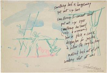 , 'Water Light/Water Needle Diagram 5,' 1966, Hales Gallery