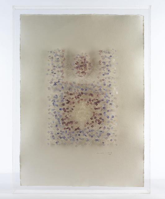 , 'Mandala amb fils blaus,' 1985, N2 Galería