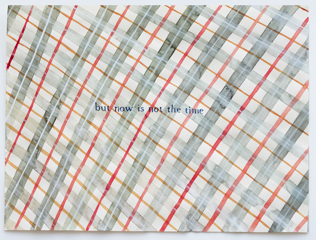 Julia Kuhl, 'Domestic Textiles Series, But Now Is Not The Time', 2019, frosch&portmann