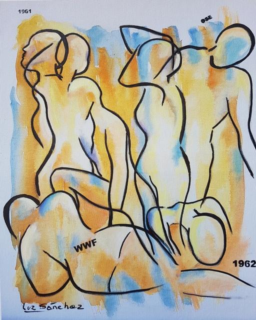 Luz Sánchez, 'Tomando Conciencia I', 2019, Painting, Mixed media on canvas, ACCS Visual Arts