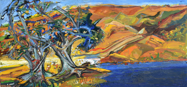 , 'Evening on the Toba River 1730,' 2017, Odon Wagner Contemporary