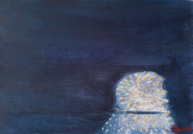 Clayton Calvert, 'Fireworks at Night', 2014, The Watermill Center Benefit Auction