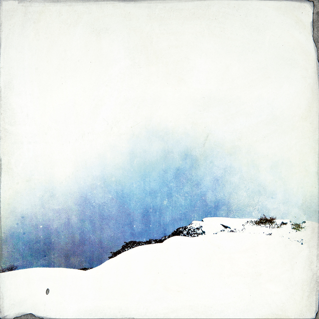 , 'White on White with Blue, Some Purple & Green,' , Dowling Walsh