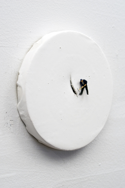 , 'Man with Pick-axe,' 2011, Carrie Secrist Gallery
