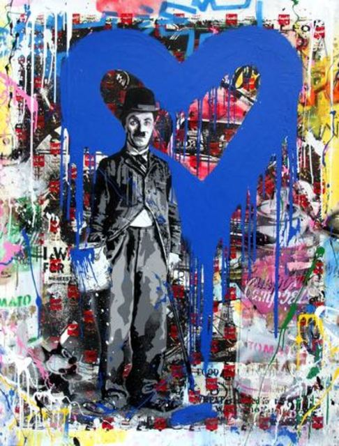 Mr. Brainwash, 'Chaplin, 2017', Bel-Air Fine Art