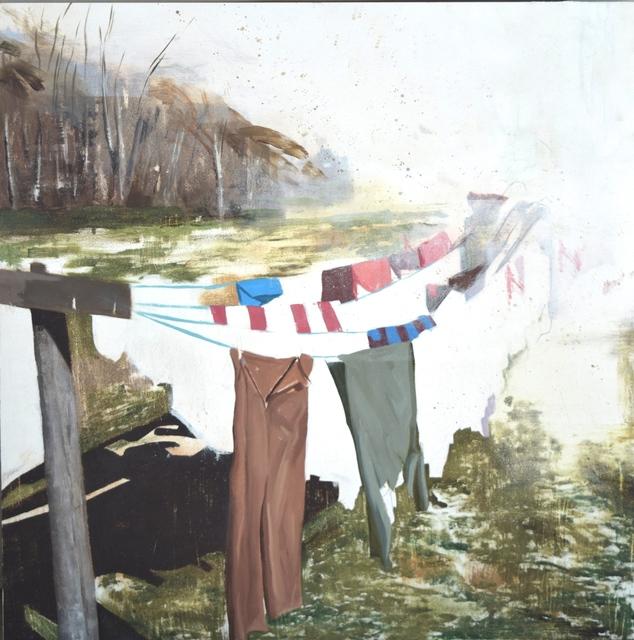 , 'Laundry,' 2017, Robert Kananaj Gallery