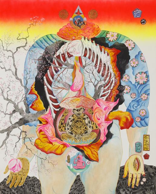 Hideyuki Katsumata, 'Cherry Blossoms', 2015, Coleccion SOLO