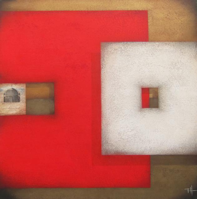 Frank Jensen, 'Roma', 2019, Painting, Mixed on canvas, Galeria Jordi Barnadas