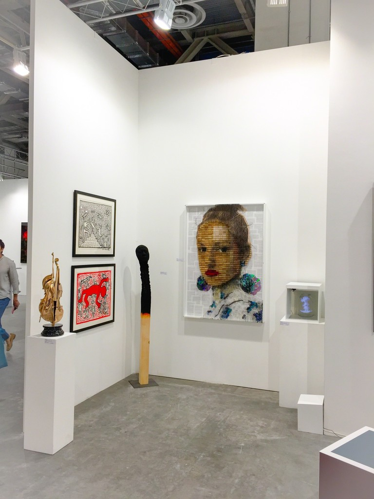 Keith Haring, beyel, Stiller, Bastiani, Arman