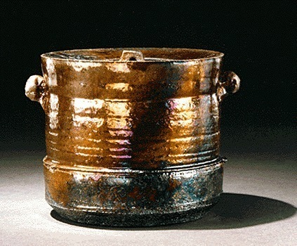 , 'Raku Lidded Jar,' 1985, The Apartment