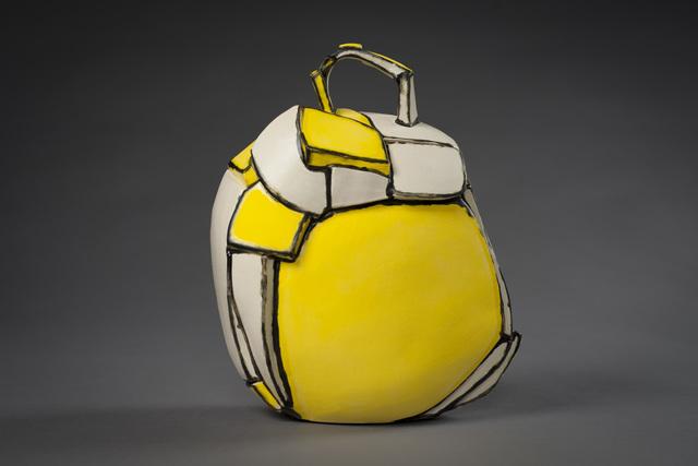 , 'Yellow Sac,' 2018, Eutectic Gallery