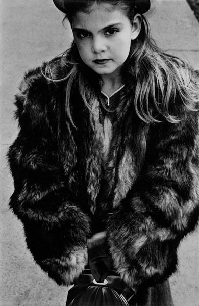 , 'Young Girl in Fur Coat,' 1950, Galerie Thierry Bigaignon