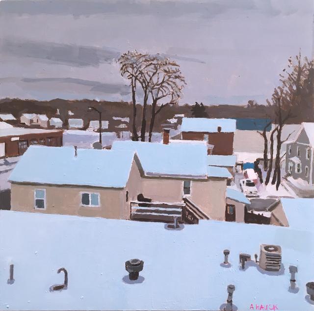 Aaron Hauck, 'Winter View Studio Window Afternoon', 2019, Deep Space Gallery