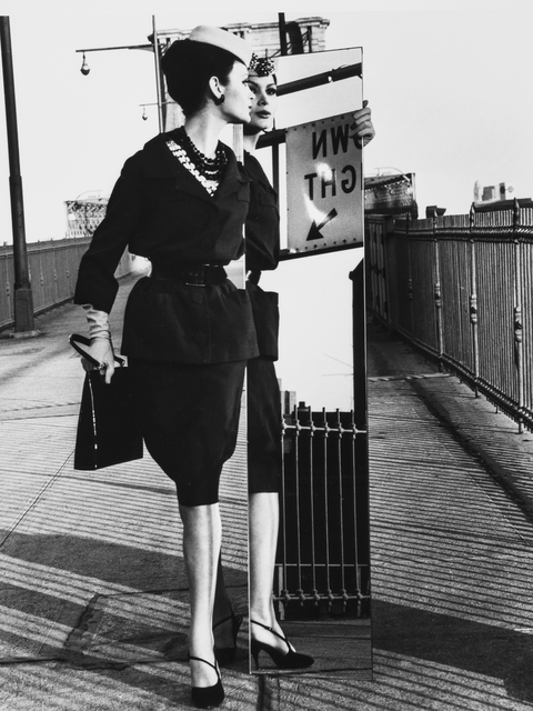 , 'Mirrors, Brooklyn Bridge, Vogue, New York City, New York,' 1962, Robert Klein Gallery