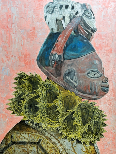 , 'The Golden Age II,' 2017, EBONY/CURATED