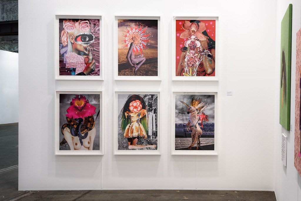 Exhibition view, Roslyn Oxley9 Gallery Booth, Sydney Contemporary (12–15 September 2019). Photo: Luis Power.