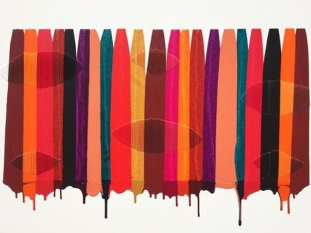 , 'Fils I Colors CCXLIX,' 2015, Matthew Rachman Gallery