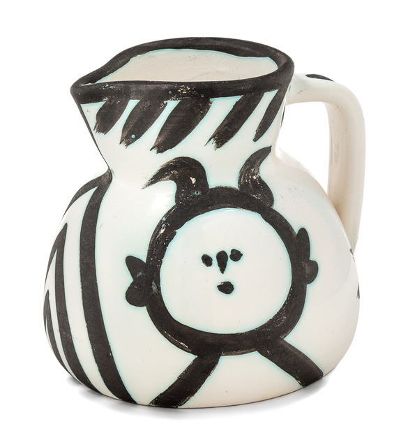 Pablo Picasso, 'Pichet tete (Head Pitcher)', 1953, Design/Decorative Art, Partially glazed ceramic, Hindman