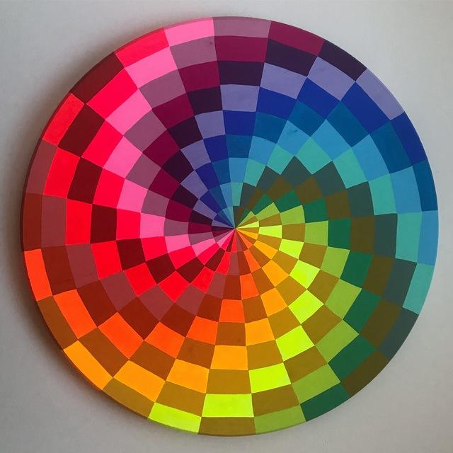 , 'West Coast Hex Sign- Rainbow,' , The Studio Shop