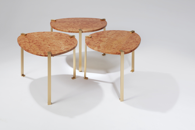 , 'Verone side tables,' 2016, Galerie Negropontes