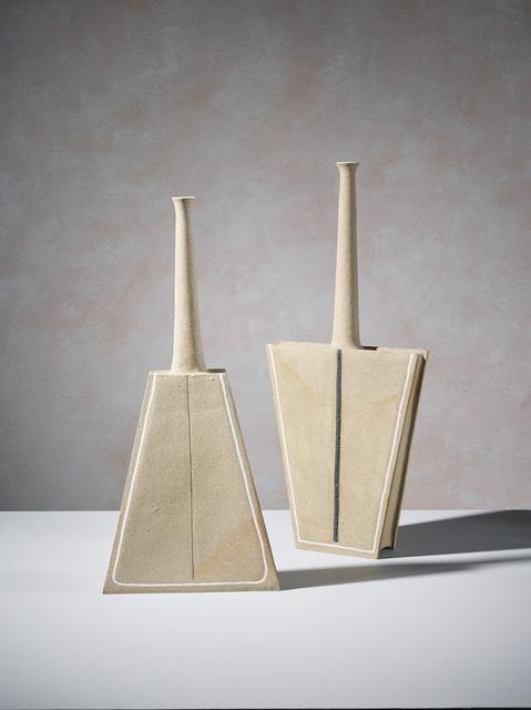 , 'Pair of geometric sculptures,' 2006, 18 Davies Street Gallery