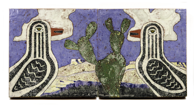 , 'Arizona Bird Diptych,' , form & concept