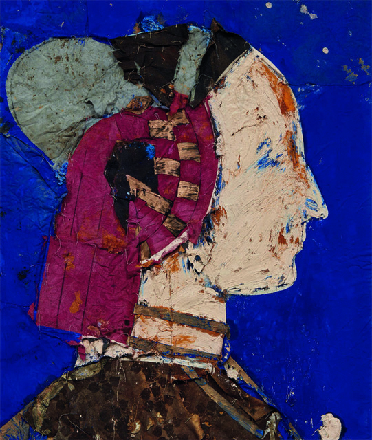 , 'Perfil con fondo Azul   ,' 1994, Contini Art Gallery