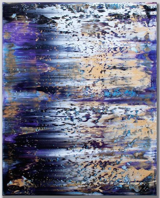 , 'Untitled in Violet,' 2017, Inception Gallery