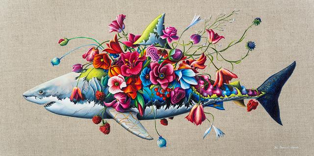 , 'Shark Study,' , Corey Helford Gallery