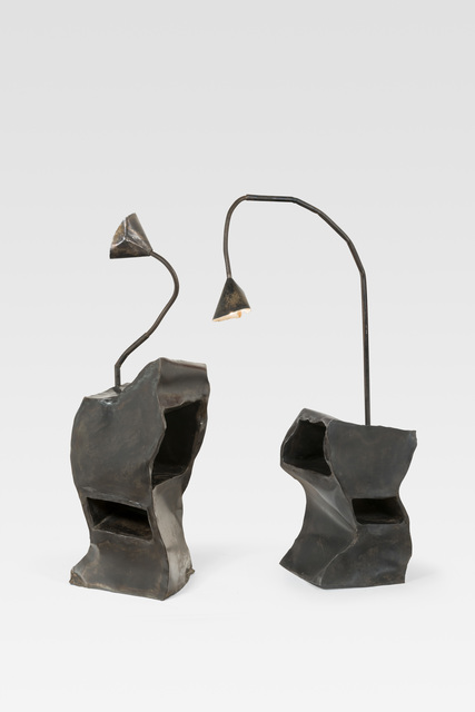 , 'Pair of bedside lamps,' ca. 1990, Galerie Le Beau