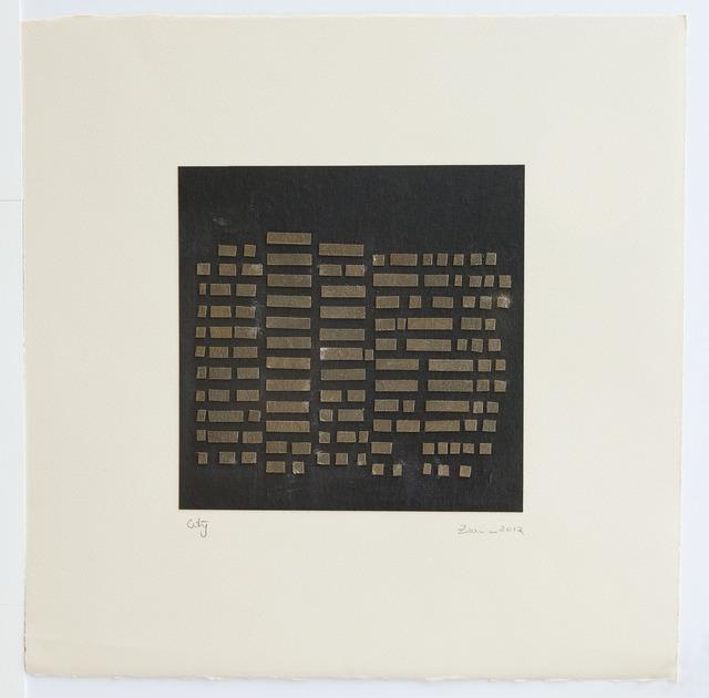 , 'City,' 2012, Gallery Espace