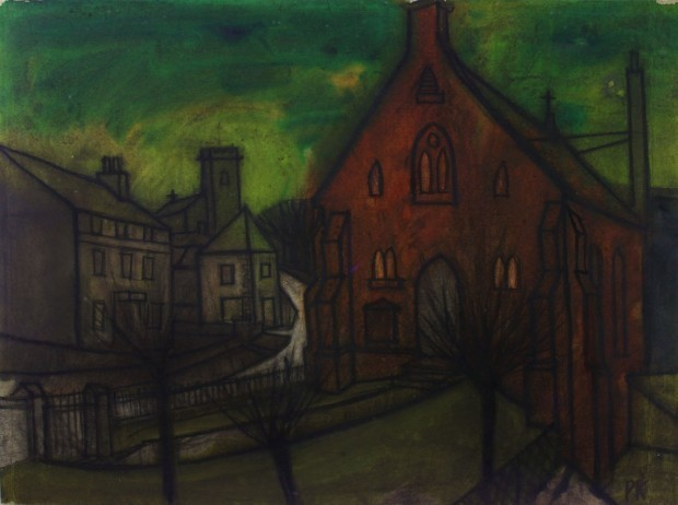 , 'The red chapel, Harrington,' , Castlegate House Gallery