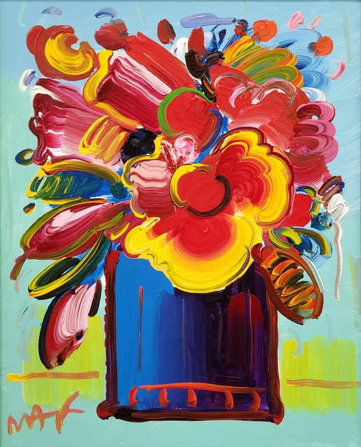 Peter Max, 'Abstract Flowers ', 2012, Off The Wall Gallery