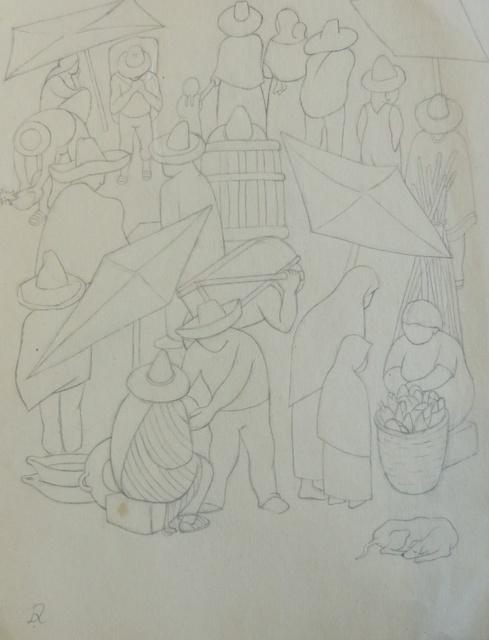 Diego Rivera, 'Tianguis', Galerie AM PARK