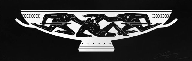 Cleon Peterson, 'Kylix - White', 2018, Blackline Gallery