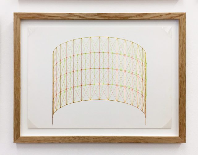Günter Günschel, 'Anaglyph 3D drawing No.4', 1988, Betts Project