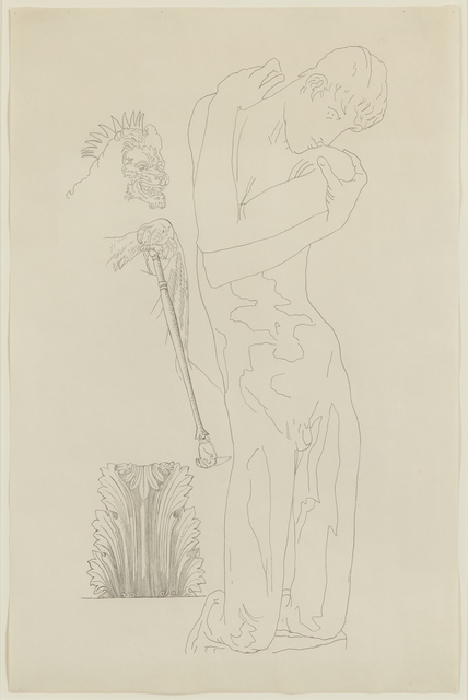 , 'Study for Narkissos II,' , Tibor de Nagy