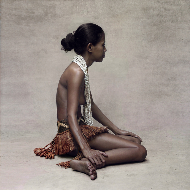 , 'Young Women with Shell Necklace, New Guinea,' 2015, Addicted Art Gallery