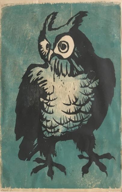 , 'Owl I,' Late 20th c., Bakker Gallery