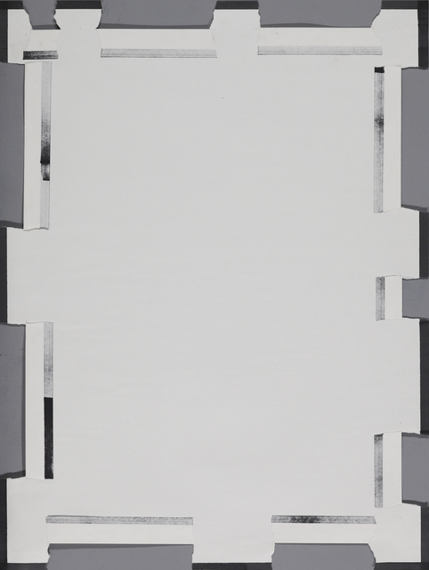 , '依空化 Dependent Space,' 1973, Tomio Koyama Gallery