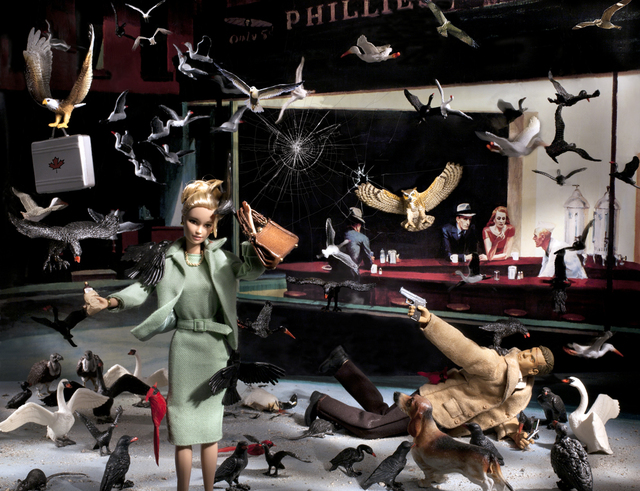 , 'Nighthawks (What would Jack Bauer Do?),' 2012, Michael Gibson Gallery