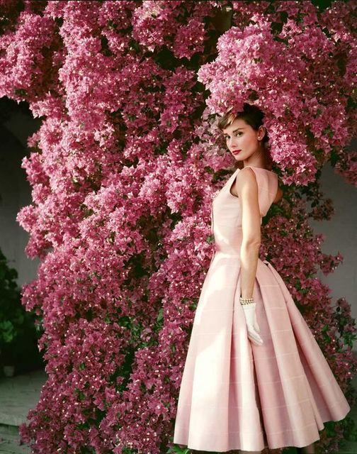 , 'Audrey Hepburn with Flowers,' 1955, Peter Fetterman Gallery