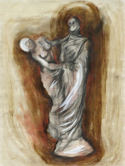 , 'Estudio para Byron en Grecia,' 1995, Galeria Oscar Roman