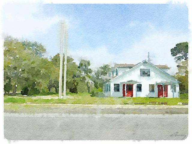 Anne M Bray, 'Red Doors, FL', 2014, TAG Gallery