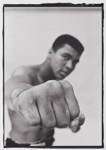 , 'Muhammad Ali Showing off his Right Fist,' 1966, CAMERA WORK