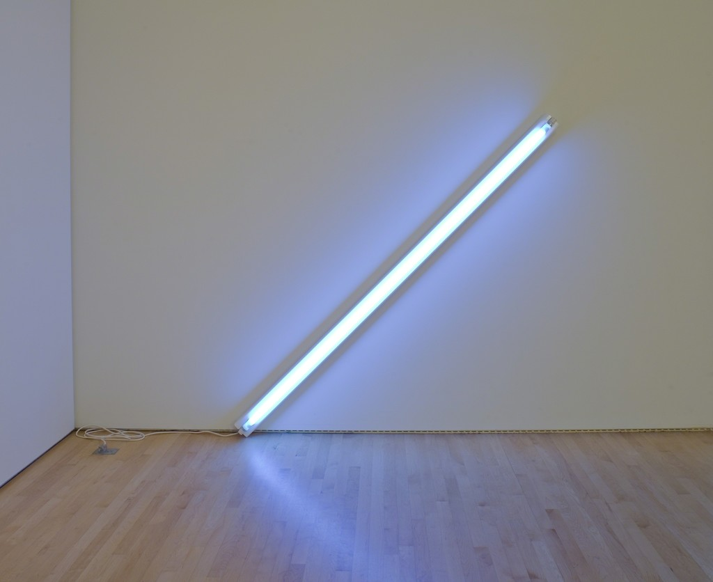 Dan Flavin, 'The Diagonal of May 25, 1963,' 1963, San Francisco Museum of Modern Art (SFMOMA)