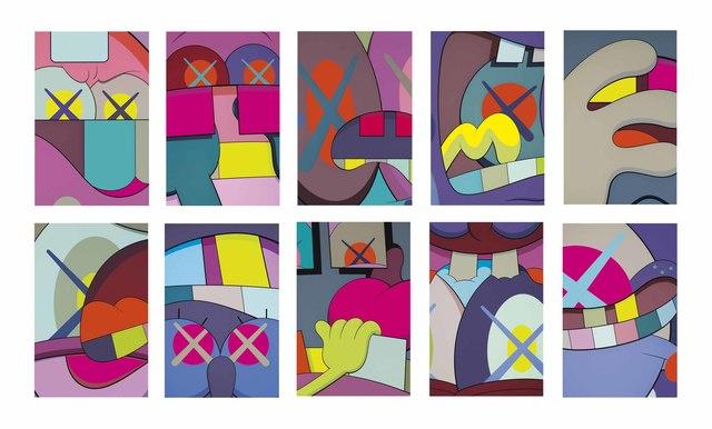 KAWS, 'Ups and Downs (Portfolio of 10 prints)', 2013, Pop Fine Art