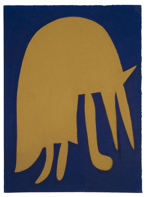 , 'Untitled (Abstracted Animal on Blue),' 2010, Fleisher/Ollman